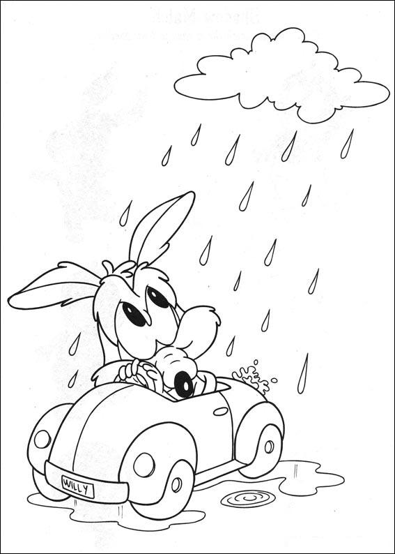 Dibujos Para Colorear De Bebes Looney Tunes Dibujos de Baby Looney ...