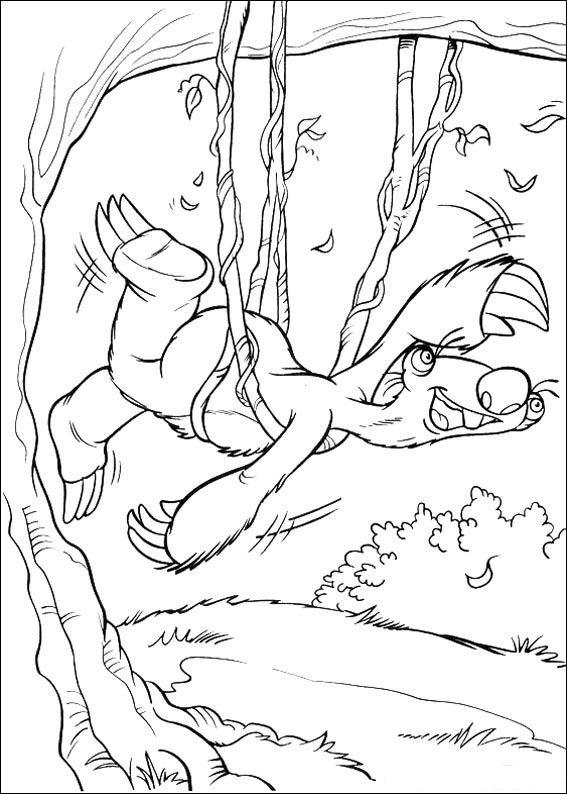 Era de hielo Dibujos para Colorear - DisneyDibujos.com
