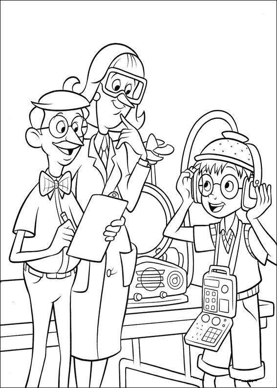 La Familia Del Futuro Dibujos Para Colorear Disneydibujoscom
