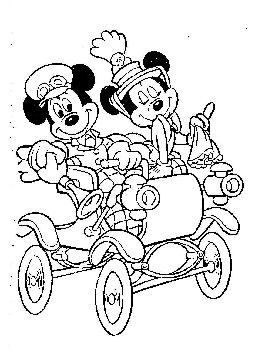 Mickey mouse Dibujos para Colorear - DisneyDibujos.com
