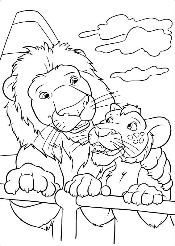 Vida salvaje Dibujos para Colorear - DisneyDibujos.com